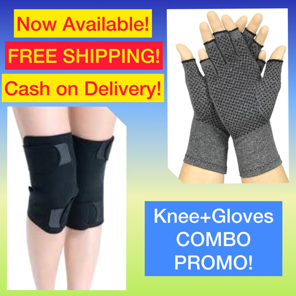 Knee Pads + Compression Gloves COMBO PROMO