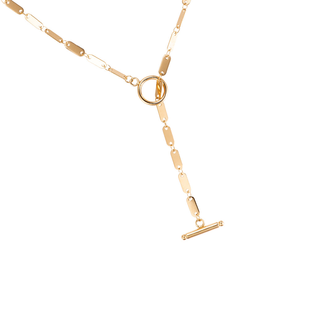 Y Shape Chain gold