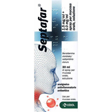 SEPTAFAR SPRAY 1 FLACONE 30ML 250ER