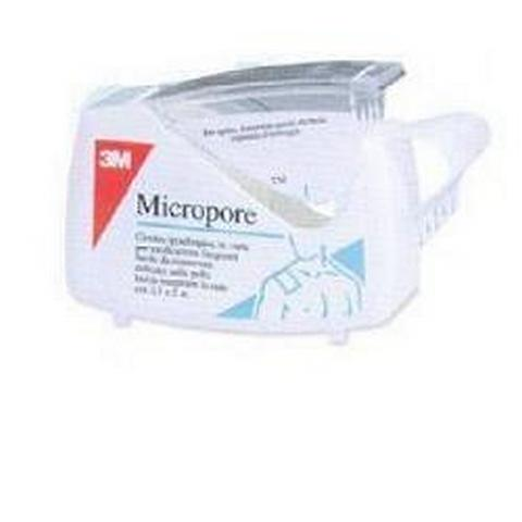 CEROTTO MICROPORE 1,25X500CM DISPENSER
