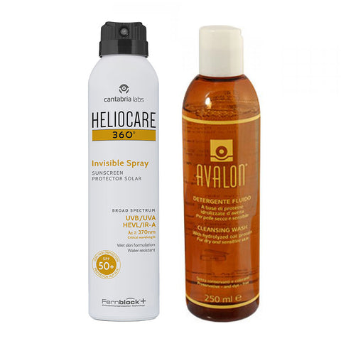 HELIOCARE INVISIBILE SPRAY SPF50+ CON AVALON DETERGENTE