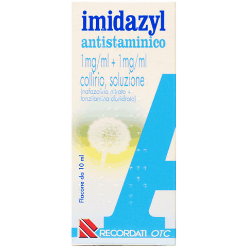 IMIDAZYL A COLLIRIO 1 FLACONE 10ML