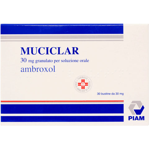 MUCICLAR OS GRANULARE 30 BUSTE 30MG