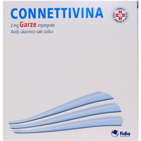 CONNETTIVINA GARZE 2MG 10X10