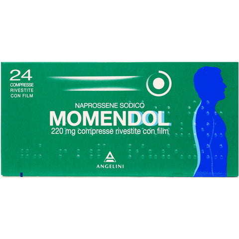 MOMENDOL 24 COMPRESSE RIVESTITE 220MG
