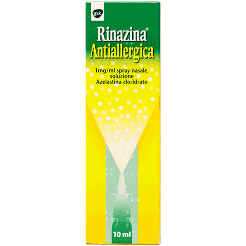 RINAZINA ANTIALLERGICO SPRAY NASALE 10ML