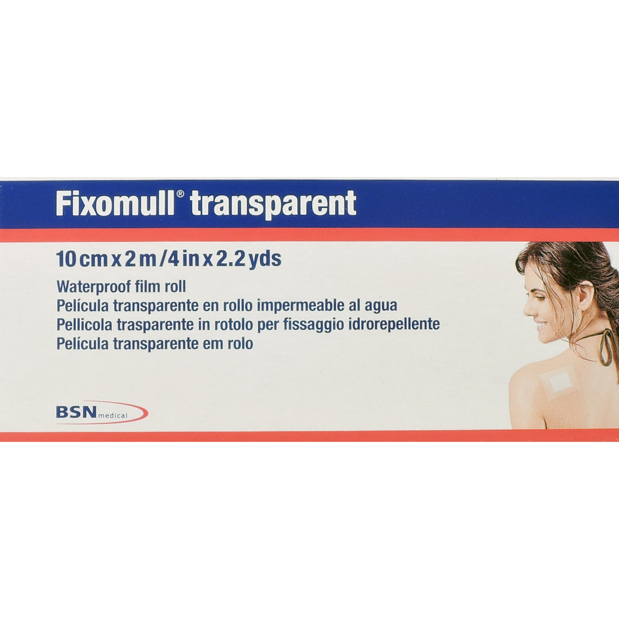 CEROTTO FIXOMULL TRANSPARENT 10X200