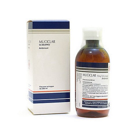MUCICLAR SCIROPPO 200ML 15MG/5ML