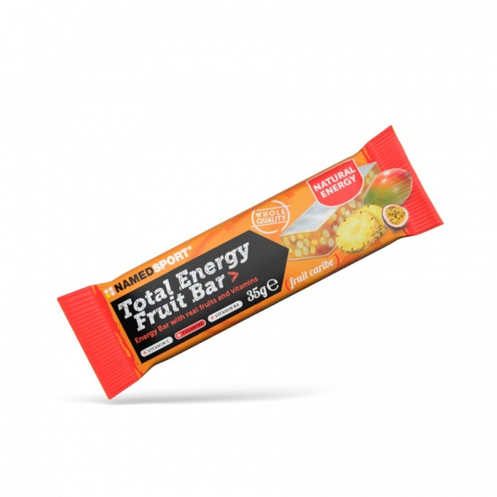 NAMED SPORT TOTAL ENERGY FRUIT BAR FRUIT CARIBE 35G