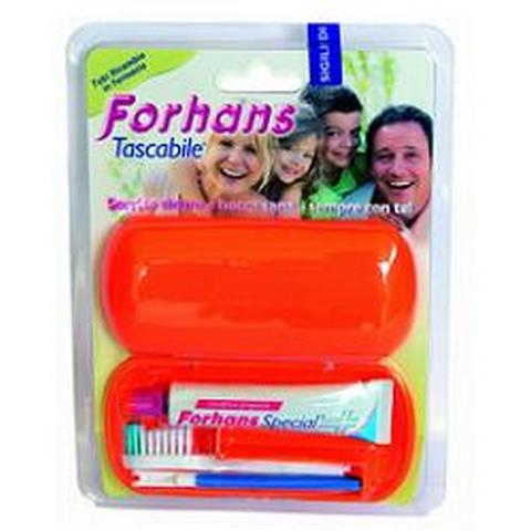 FORHANS SPAZZ+DENTIF TRAVEL KIT