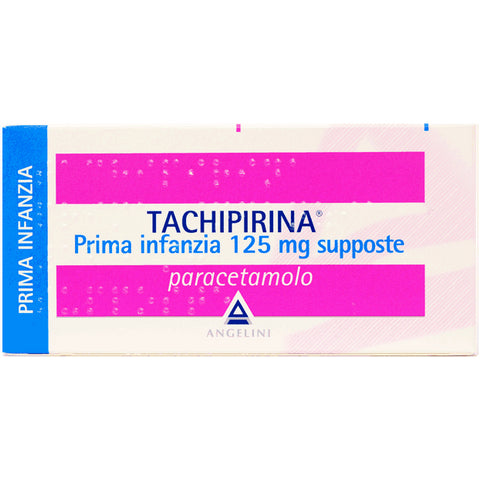 TACHIPIRINA PRIMA INFANZIA 10 SUPPOSTE 125MG