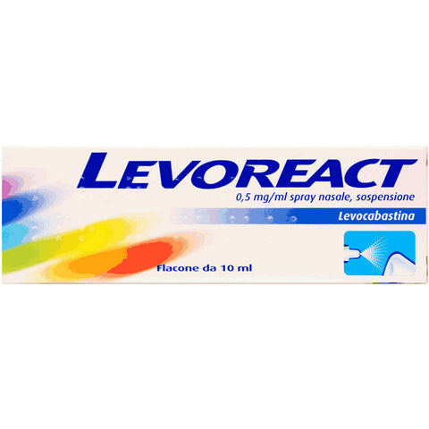 LEVOREACT SPRAY NASALE 10ML 0,5MG