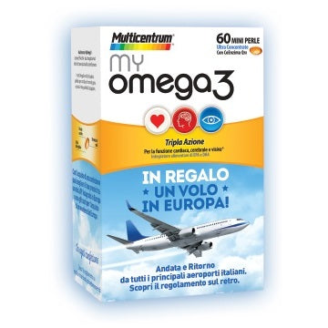 MULTICENTRUM MY OMEGA3 60 MINI PERLE