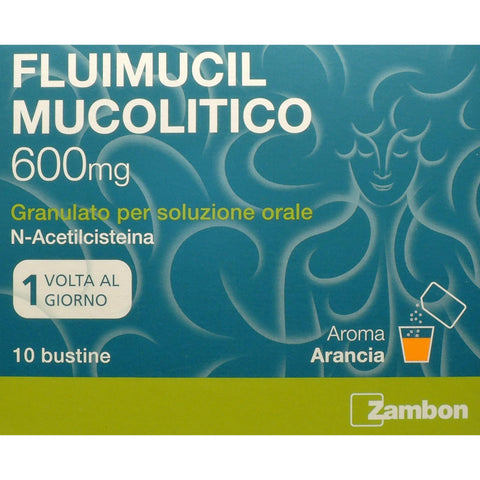 FLUIMUCIL MUCOLITICO 600 MG 10 BUSTE