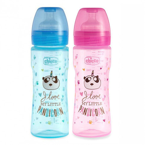 CHICCO FANTASTIC LOVE BIBERON 4+ MESI 330ML
