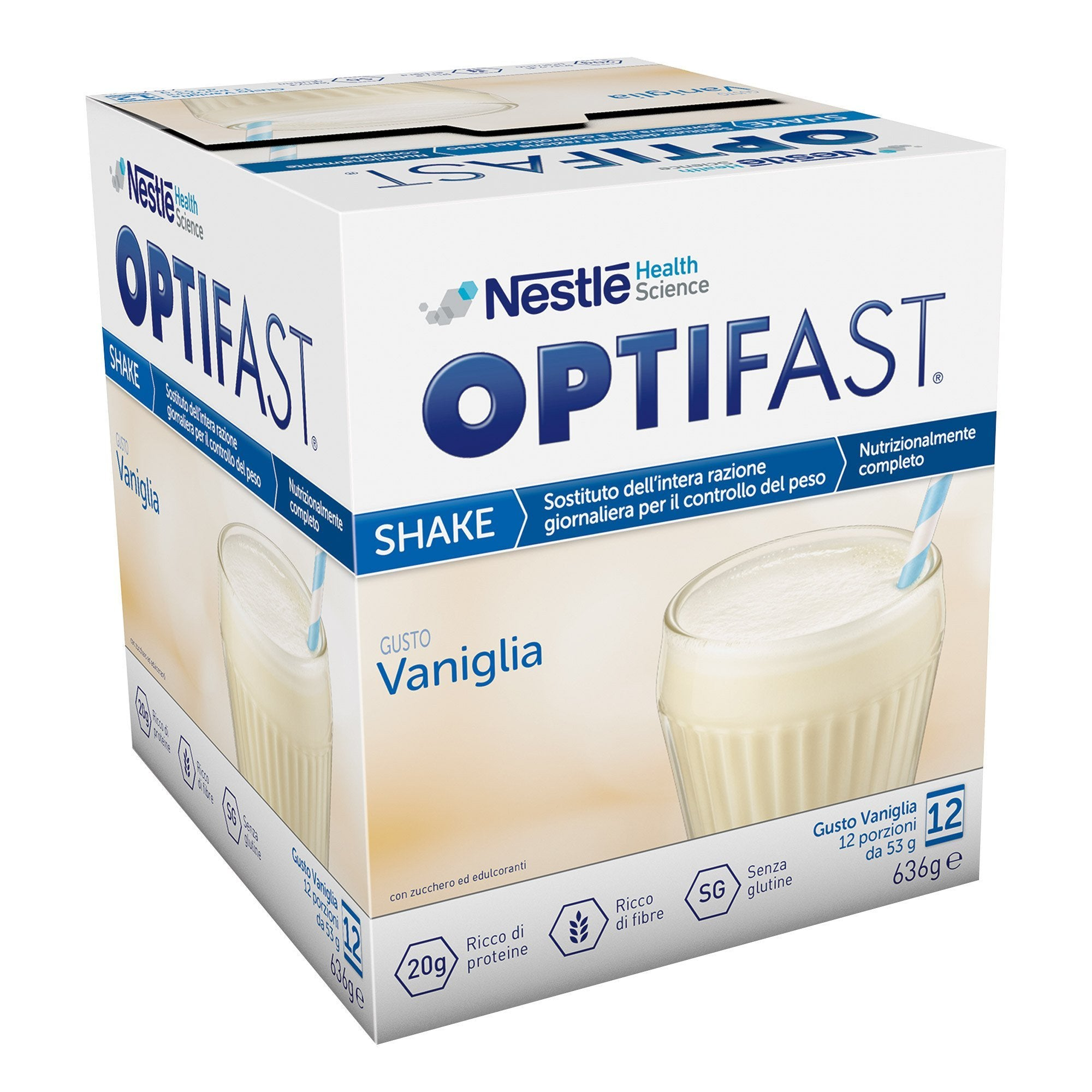 OPTIFAST SHAKE VANIGLIA 12X53G
