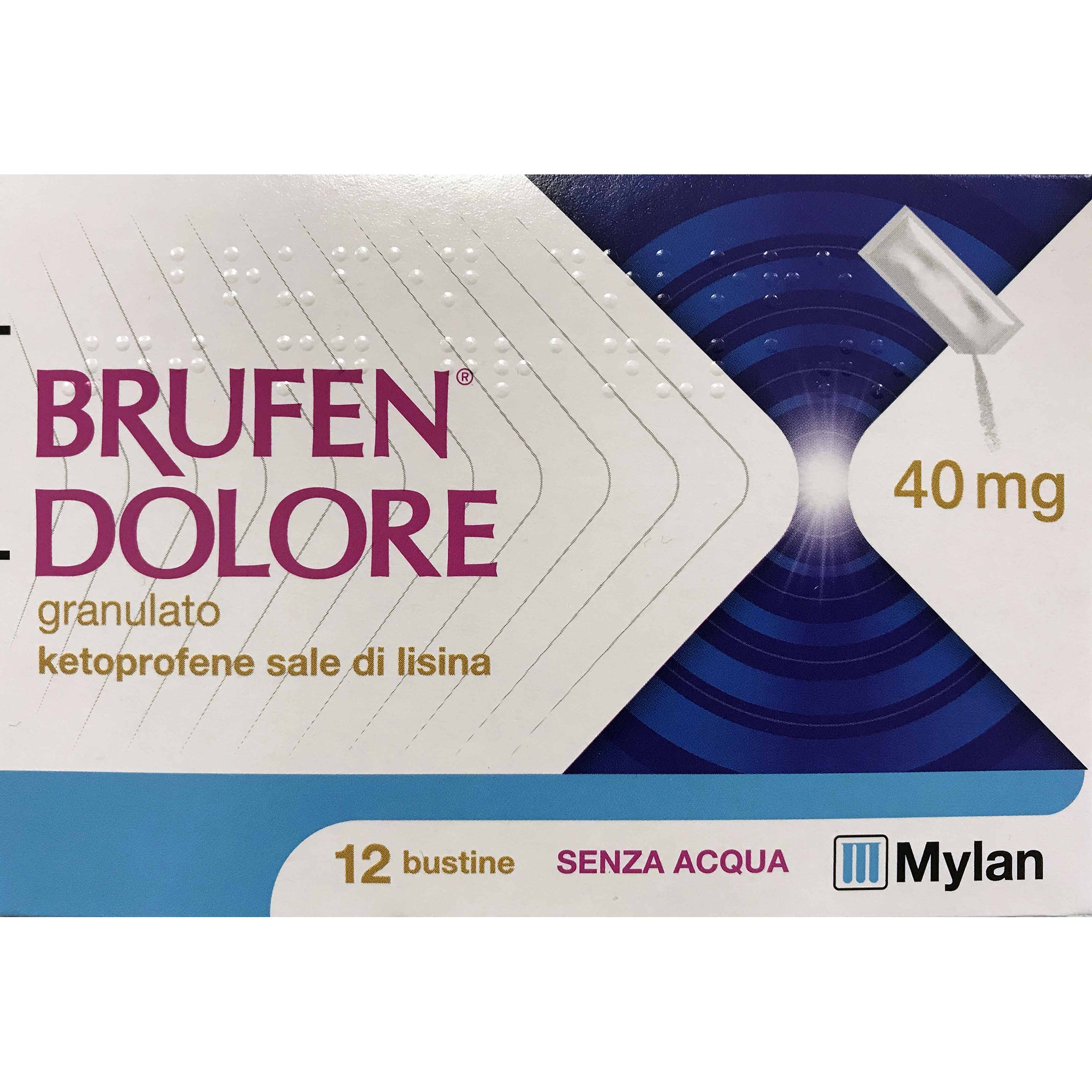 BRUFEN DOLORE OS 12 BUSTE 40MG