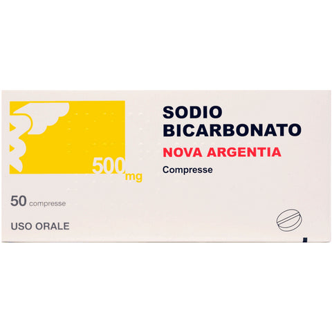 SODIO BICARBONATO 50 COMPRESSE 500MG