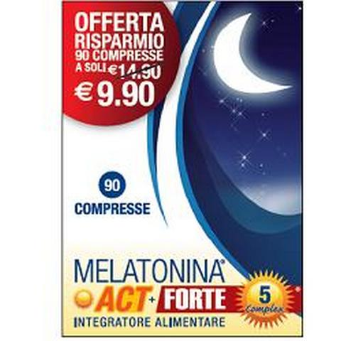 MELATONINA ACT+ 1MG FORTE 5 COMPLEX 90 COMPRESSE