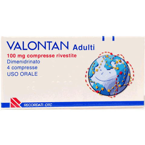 VALONTAN 4 COMPRESSE RIVESTITE 100MG