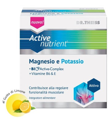 THEISS ACTIVE NUTRIENT MAGNESIO POTASSIO 20BUSTE