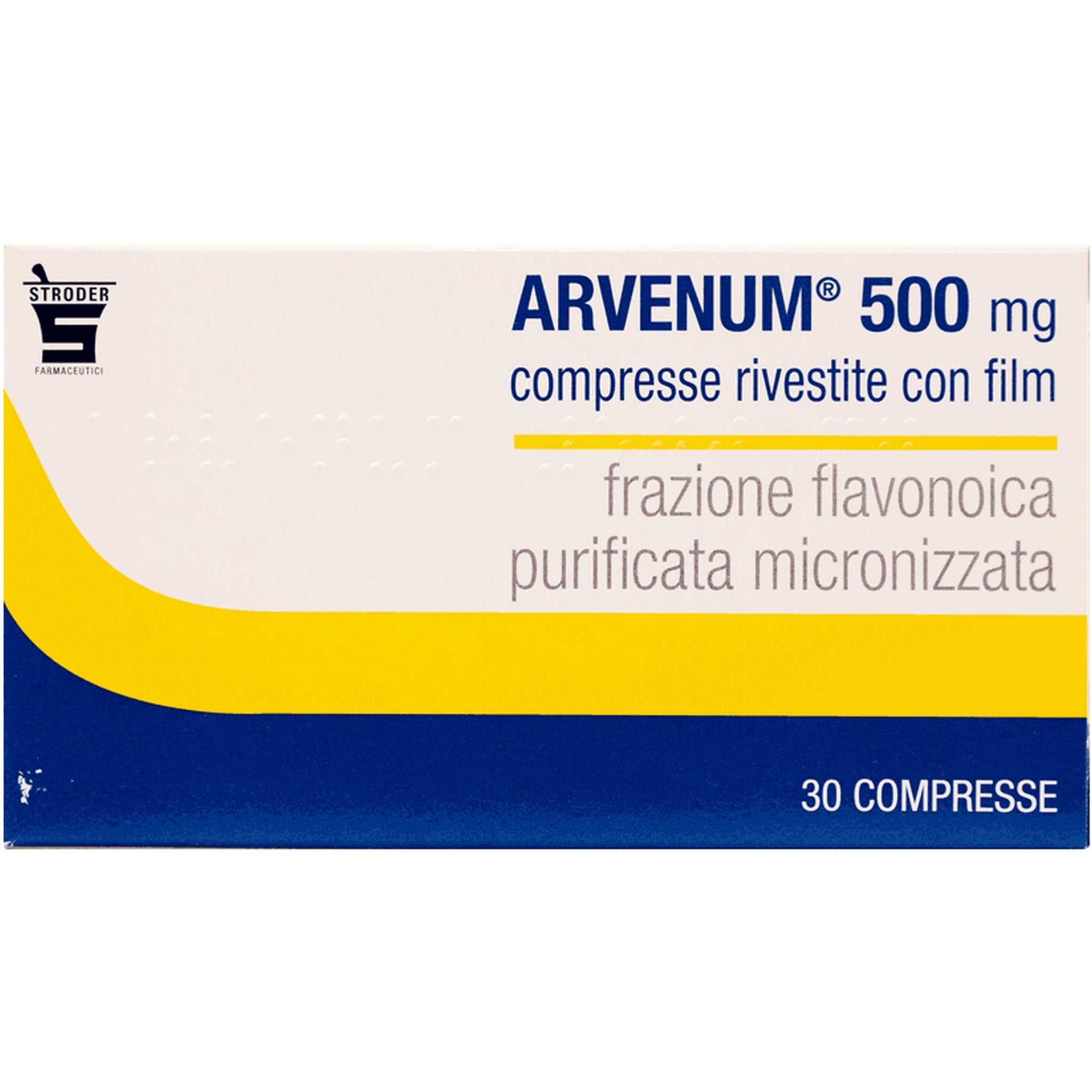 ARVENUM 500 30 COMPRESSE RIV 500MG