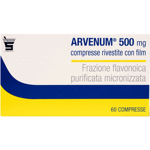 ARVENUM 60 COMPRESSE RIV 500MG