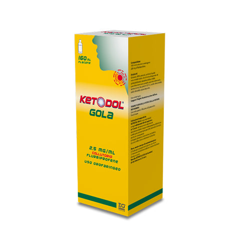 KETODOL GOLA COLLUTORIO FLACONE 160 ML