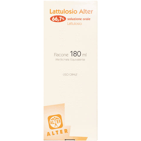 LATTULOSIO ALTER SCIROPPO 180ML