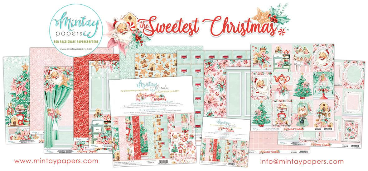 The Sweetest Christmas.Mintay By Karola The Sweetest Christmas Bevs Cross Crafts