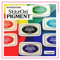 Stamp Pads > Stazon Pigment