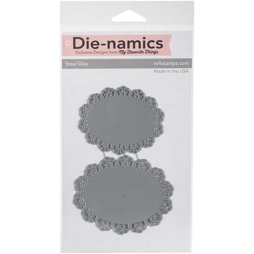 DIE-NAMICS OVAL DOILIES DUO