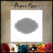 PAPER ROSE DIE  LABEL TWO