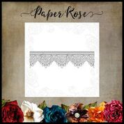 PAPER ROSE DIE MADISON LACE EDGE