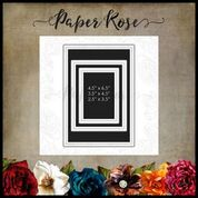 PAPER ROSE DIE  SCRAPBOOKING SET DOTS