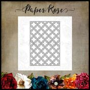 PAPER ROSE DIE  QUATREFOIL LAYER2