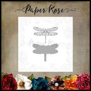 PAPER ROSE DIE  DRAGONFLY SMALL