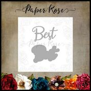 PAPER ROSE DIE BEST LAYERED