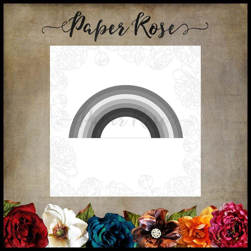 PAPER ROSE DIE RAINBOW