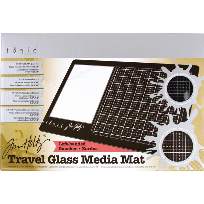 TIM HOLTZ  TRAVEL GLASS MEDIA MAT LEFT HANDED