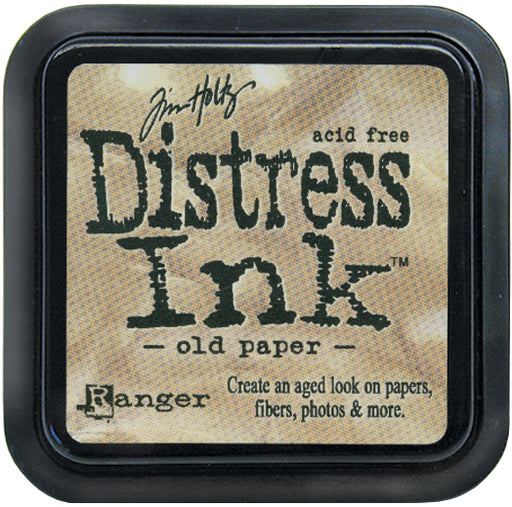 TIM HOLTZ DISTRESS INK PAD OLD PAPER