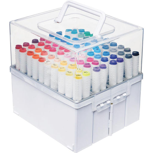 DEFLECTO EXPANDABLE MARKER ORGANISER HOLDS 80