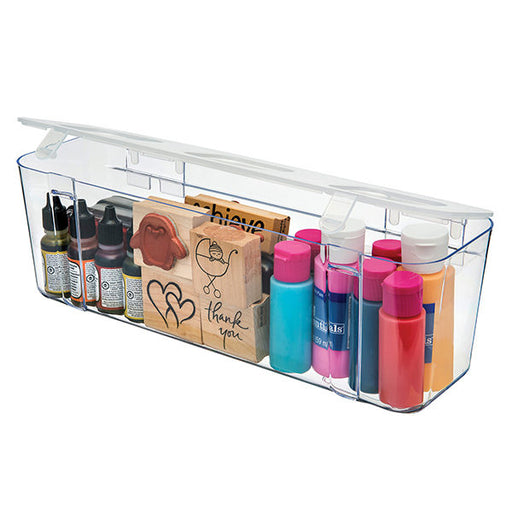 DEFLECTO LARGE CANTAINER FOR STORAGE CADDY ORGANIZER