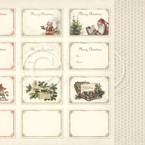 PION 12X12 CHRISTMAS IN NORWAY  LABELS