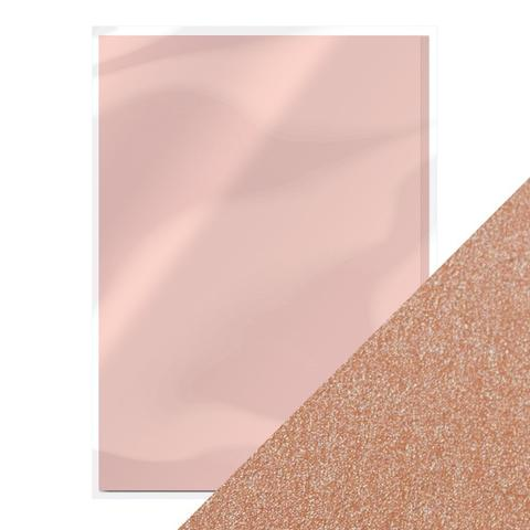 TONIC CRAFT PERFECT CARD STOCK A4 5PK  BLUSHING PINK
