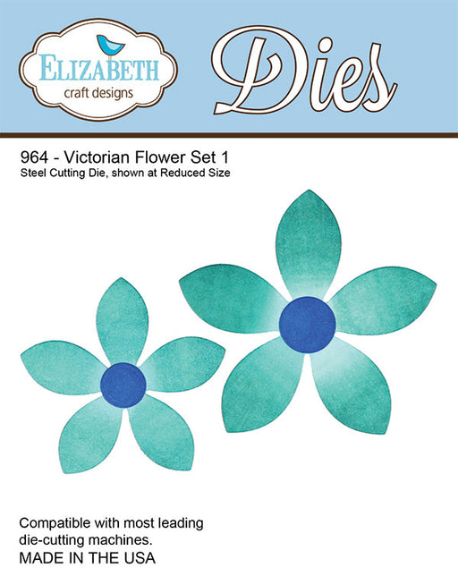 ELIZABETH CRAFTS DIE VICTORIAN FLOWER SET 1
