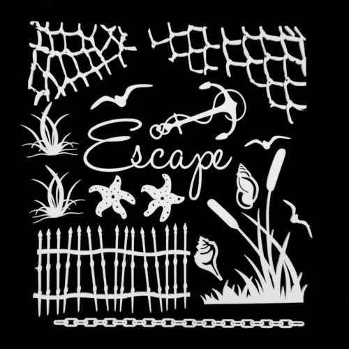49 AND MARKET LASER CUT SHAPES ARCHIVAL BOARD ESCAPE