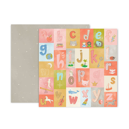 AMERICAN  CRAFT 12 X12 PAPER LITTLE ADVENTURES 04