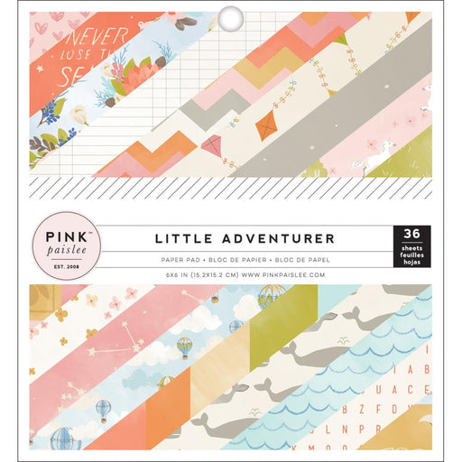 AMERICAN  CRAFT LITTLE ADVENTURES 6 X 6 PAD  GIRL