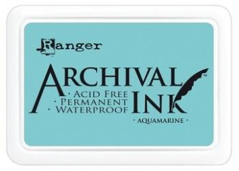 RANGER ARCHIVAL INK PAD  AQUAMARINE